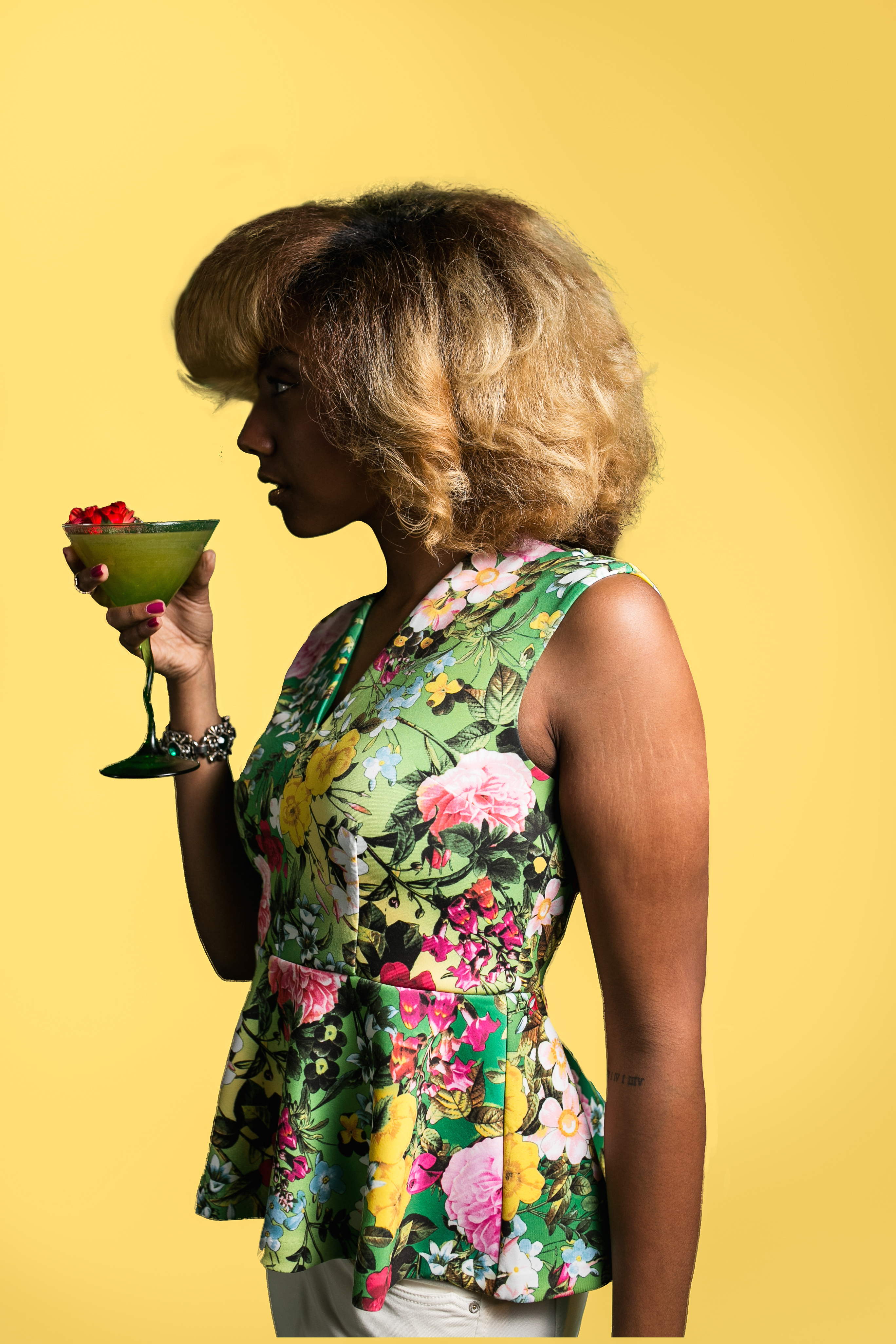 floral cocktails