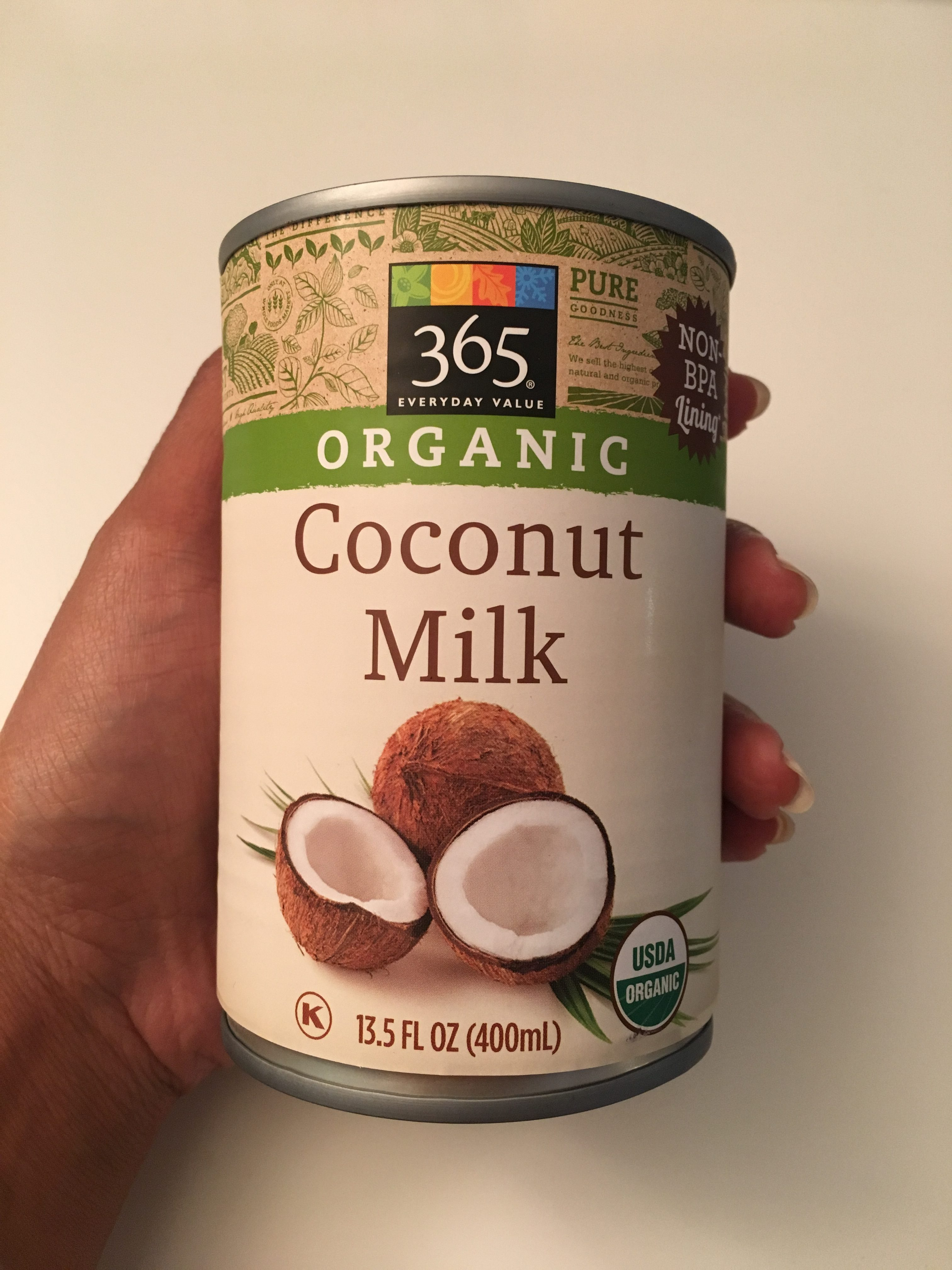 Whole 30 Approved Whole Foods Coconut Milk