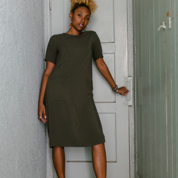 LCM-liveclothesminded-shirt dress-dress with sneakers-dad shoe trend
