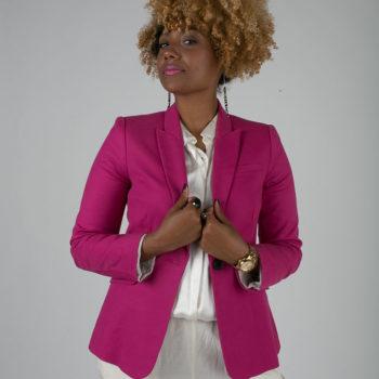 RSEE-LCM-Liveclothesminded-xmmtt-longbeach-7236-blazer-pink blazer-statement blazer-what to wear to work-outfit idea for work-natural hair-blonde curls