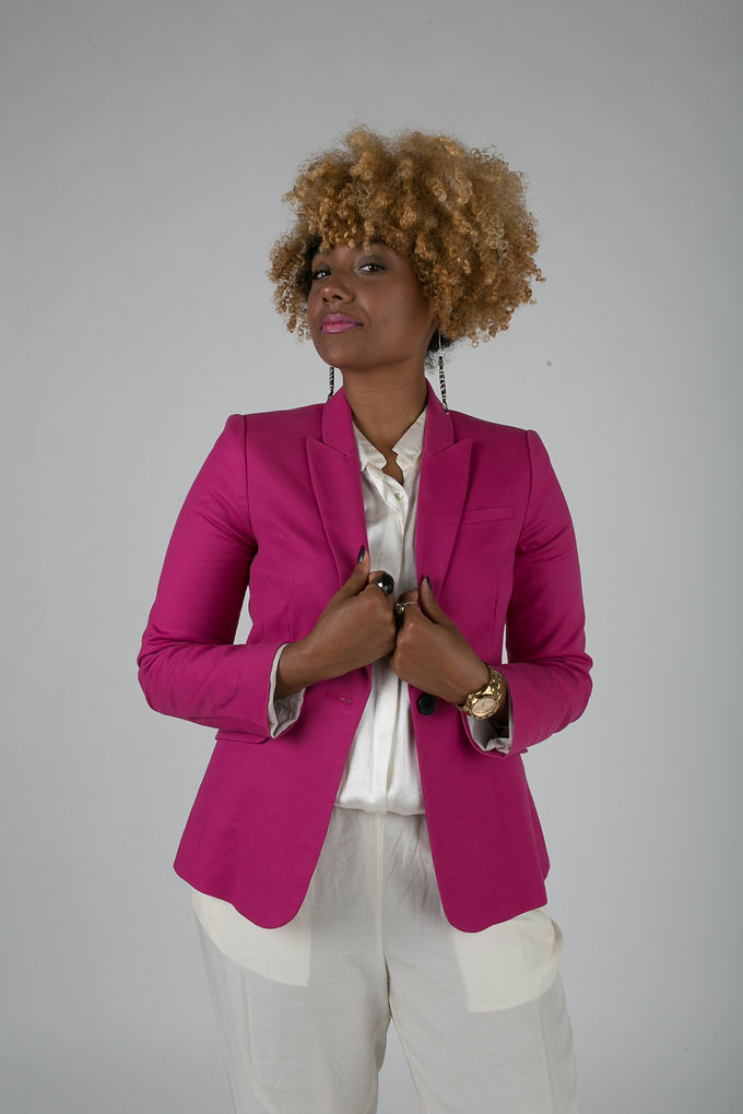RSEE-LCM-Liveclothesminded-xmmtt-longbeach-7236-blazer-pink blazer-statement blazer-what to wear to work-outfit idea for work-natural hair-blonde curls