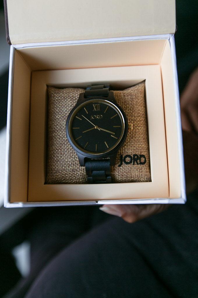 jord watch in box packaging
