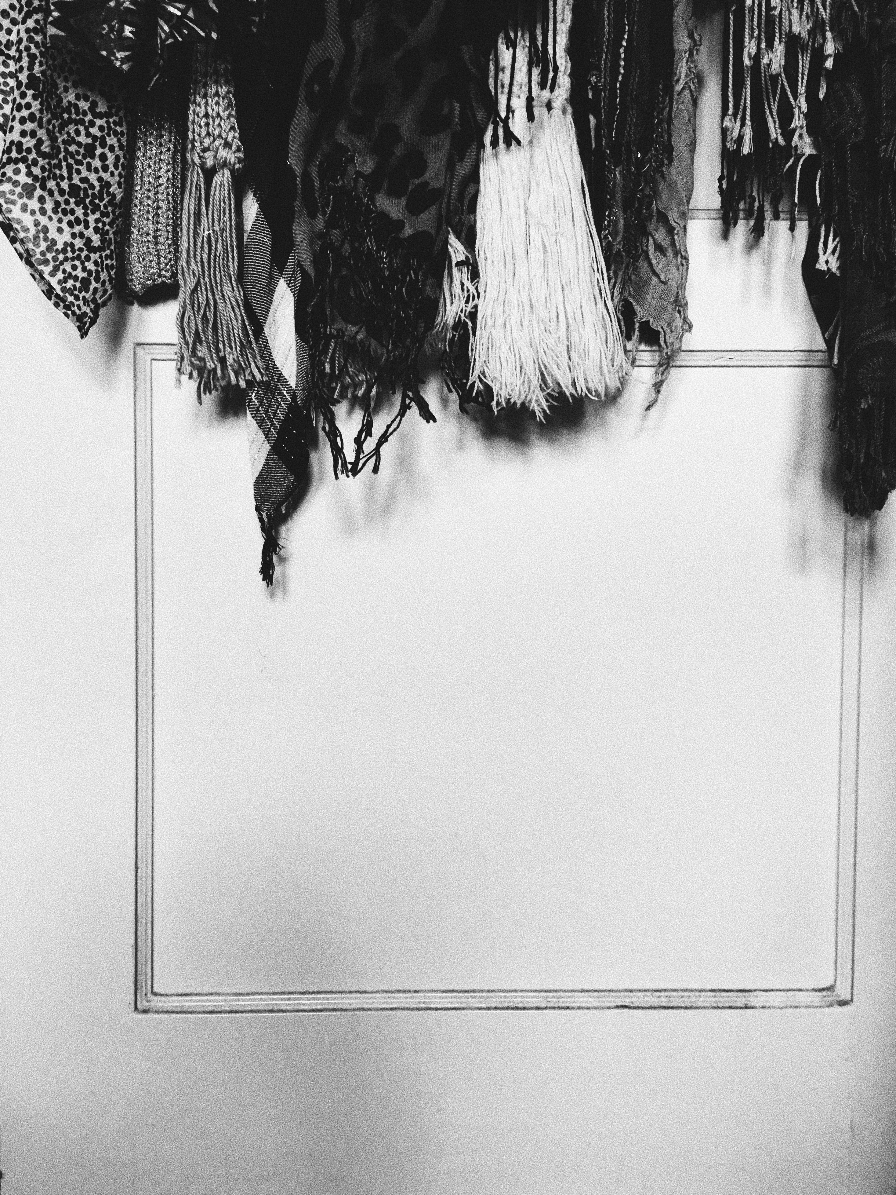 closet organization-hanging scarves-closet organizing-wear who you are
